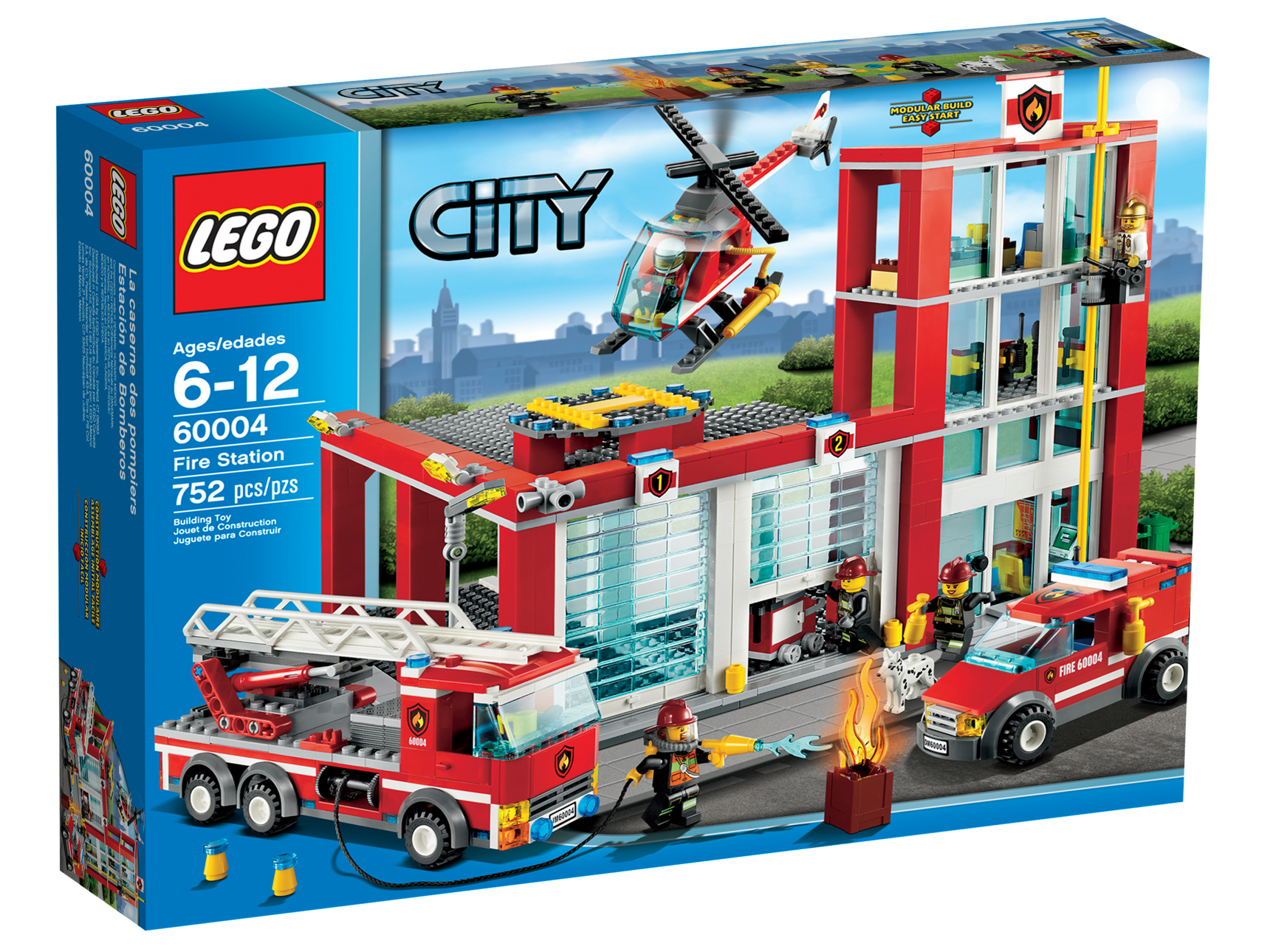 60004 Fire Station - Brickipedia, the LEGO Wiki