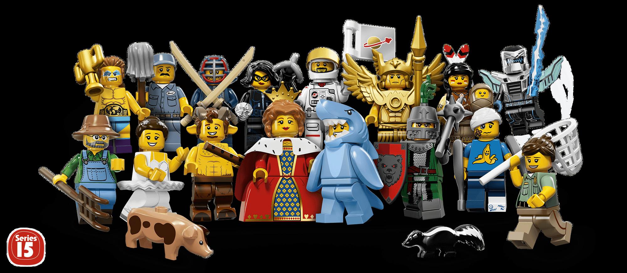 71011 Minifigures Series 15 | Brickipedia | Fandom powered ...