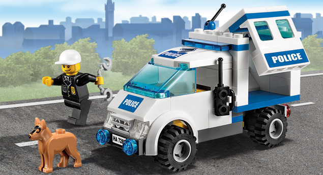 7285 l 39 unit de police wiki lego fandom powered by wikia - Lego city police camion ...
