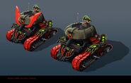 NINJAGO PROPS GarmaTron TankMode 12