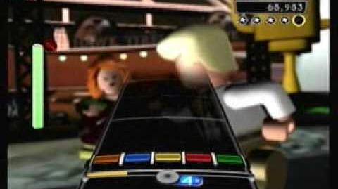 """Lets Dance"" David Bowie - LEGO Rock Band Expert Guitar-0"