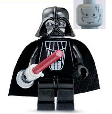Darth vader without mask lego