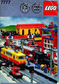7777 Trains Idea Book