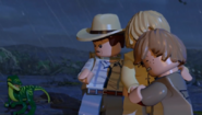 LEGO Jurassic World The Videogame Alan, Amanda & Billy