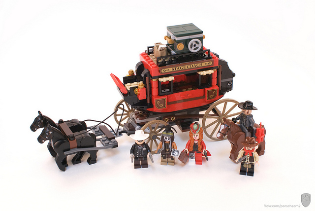 LEGO The Lone Ranger 79108 Stagecoach Escape - YouTube