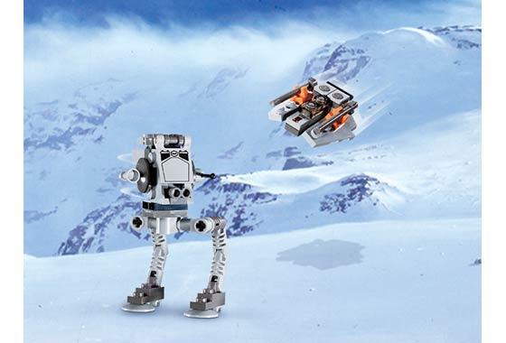 File:Mini at-st and snowspeeder.jpg