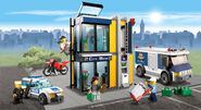 Lego city bank 2011