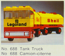 688-Shell Tank Truck