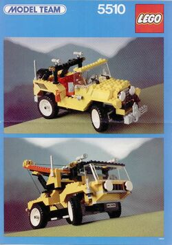 LEGO 5510 Off Road 4x4