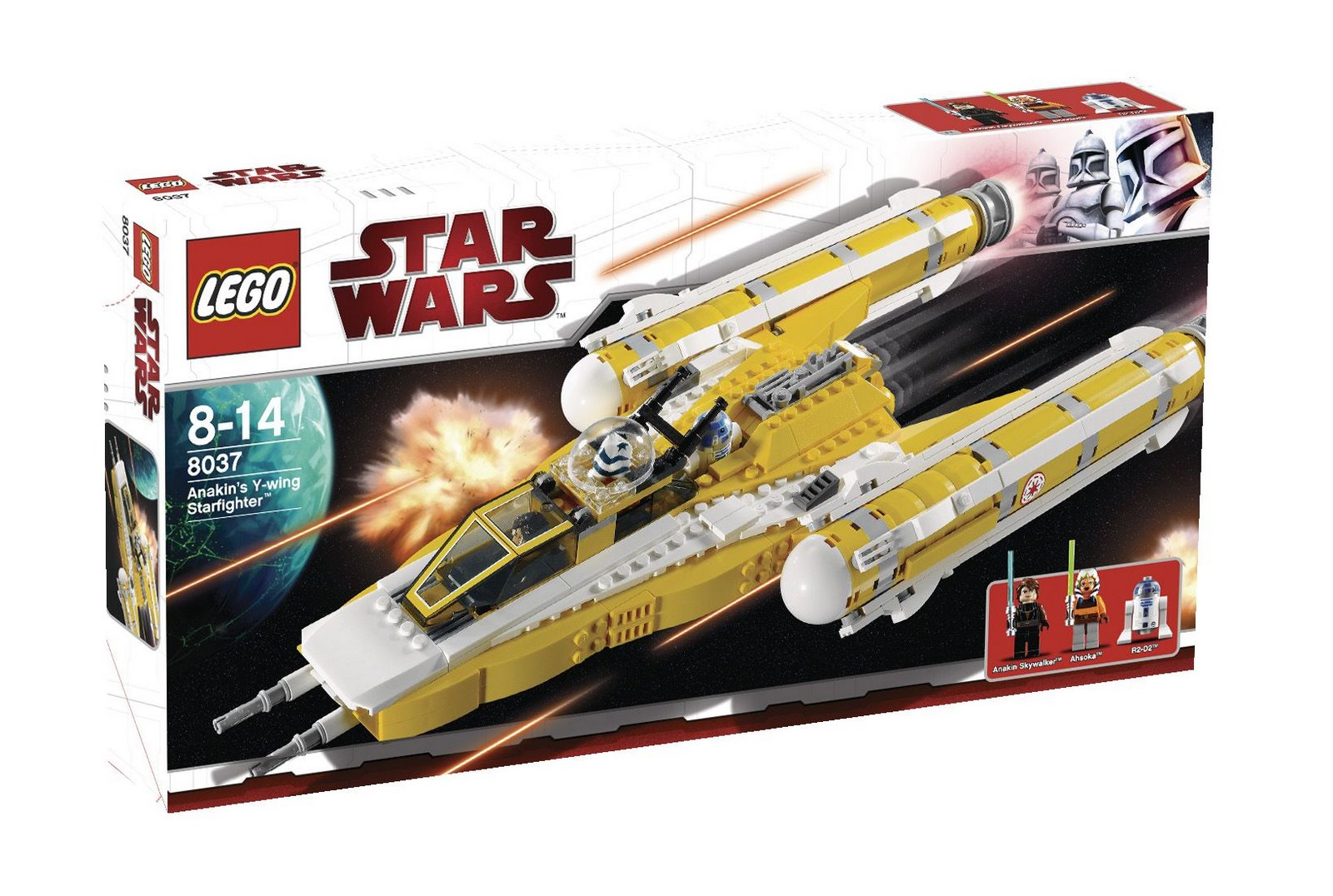 8037 Anakin's Y-Wing Starfighter | Brickipedia | Fandom powered by ...