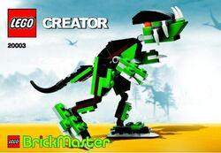 20003 Brickmaster Dino