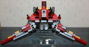 Brickmaster Star Wars Angriffsschuttle der NU-Klasse Flügel runter