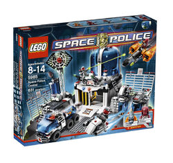 Space Police Central
