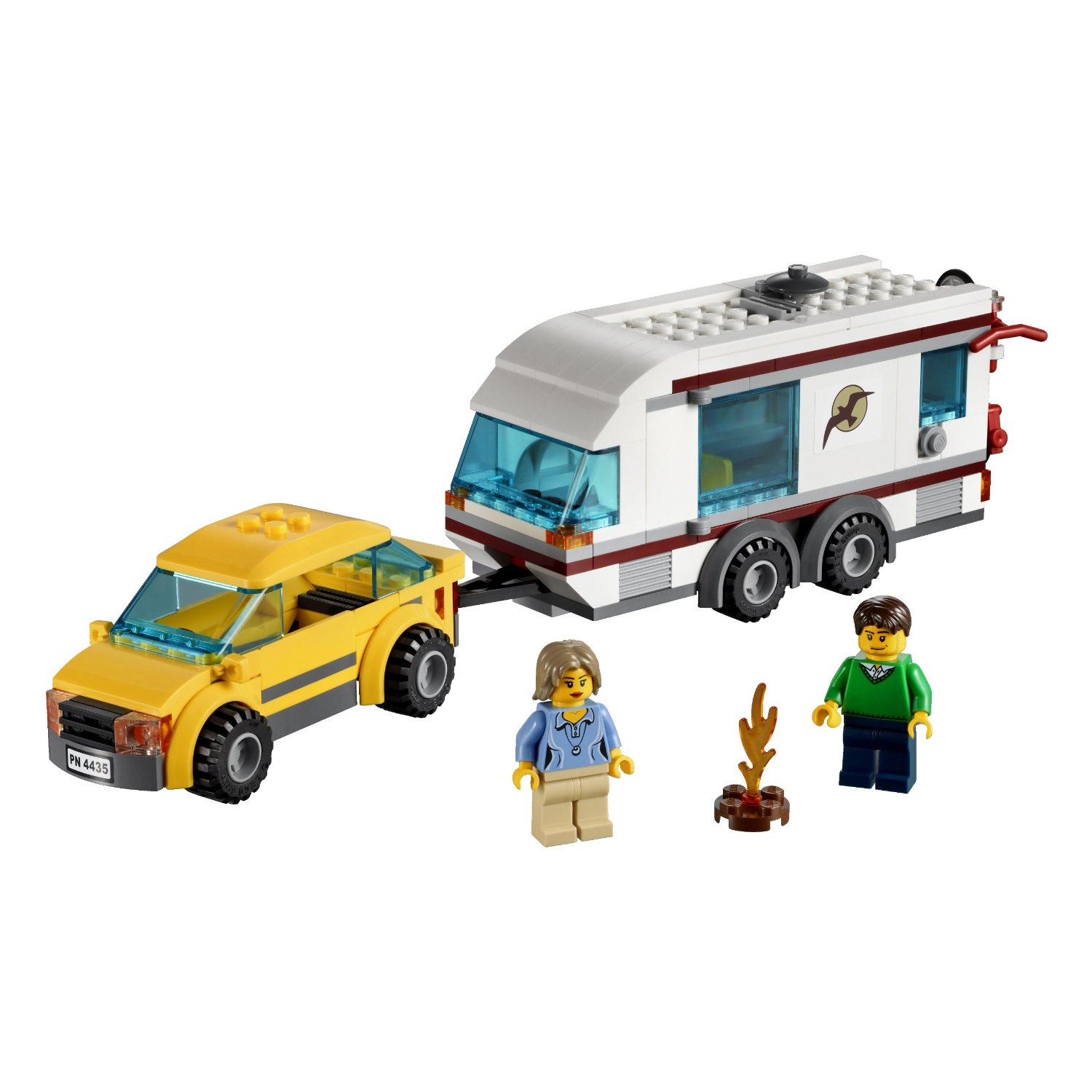 4435 la voiture et sa caravane wiki lego fandom powered by wikia. Black Bedroom Furniture Sets. Home Design Ideas