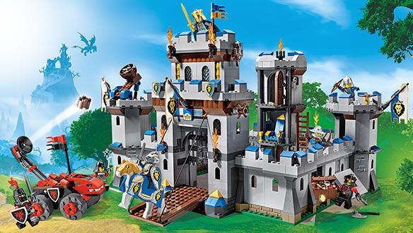 70404  Château fort LEGO : King Jouet, Lego, planchettes & autres LEGO  Jeux