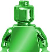 Green-minifigure