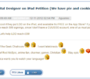 LEGO Digital Designer on iPad Petition (We have pie and cookies!)