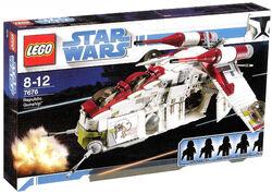7676 republic gunship