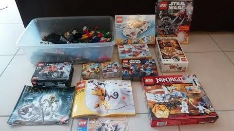 Lego haul n° 1 01 06 2014 Garage sale