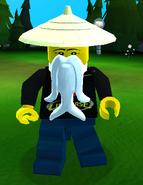 Wu Rice HatBeard