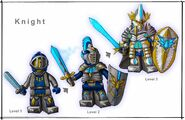 Knight layout