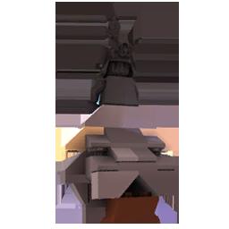 Turret statue