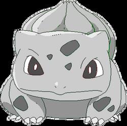 001 Bulbasaur OS3 Silver
