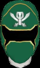Gokai Green Helmet F