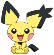 172 Pichu Spiky-Ear DP3