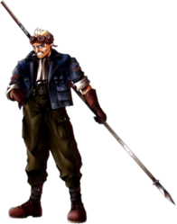 Cid Highwind FFVII Art