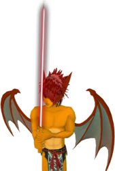 Charizard Saber Red