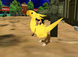 Chocobo with Trigger kweeeh