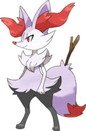 Shiny Braixen