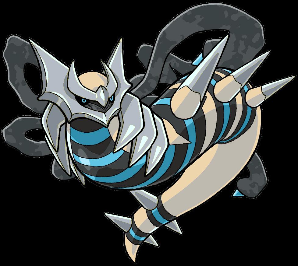 Giratina Origin Form Shiny - Pokémon - By Wolf40013 ...