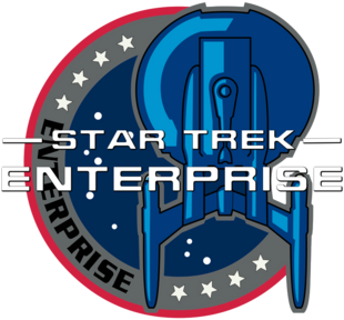 Star Trek Enterprise Patch Title