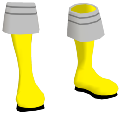 SMF Yellow Boots F