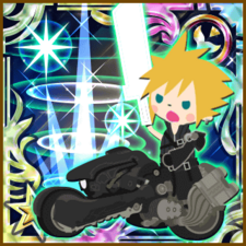 Cloud Strife Finishing Touch UR+