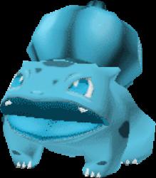 001 Bulbasaur PS Crystal