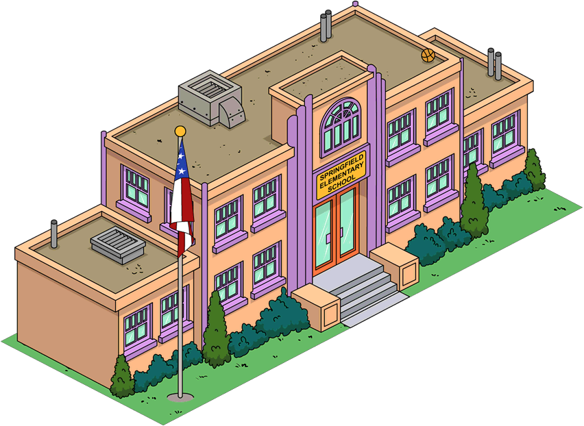 201 Cole Primaire De Springfield Wiki Les Simpson