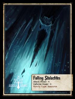 Falling Stalactites