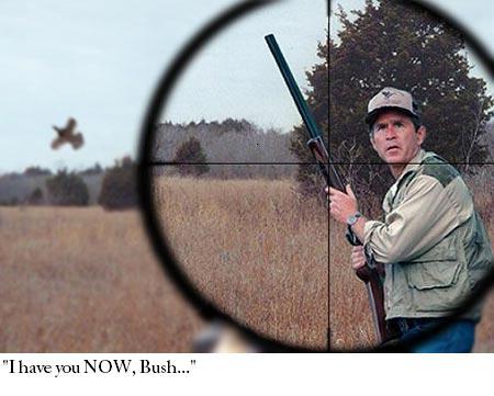 File:George Bush Hunting Edited.JPG