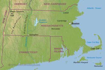 Massachusetts-map