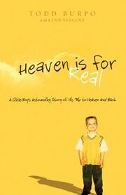 Heaven Is for Real (Burpo book) cover