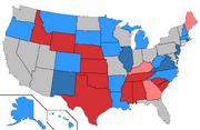 Competitive 2014 Senate seats