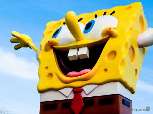 File:Sponge bob visits floriade, canberra.jpg