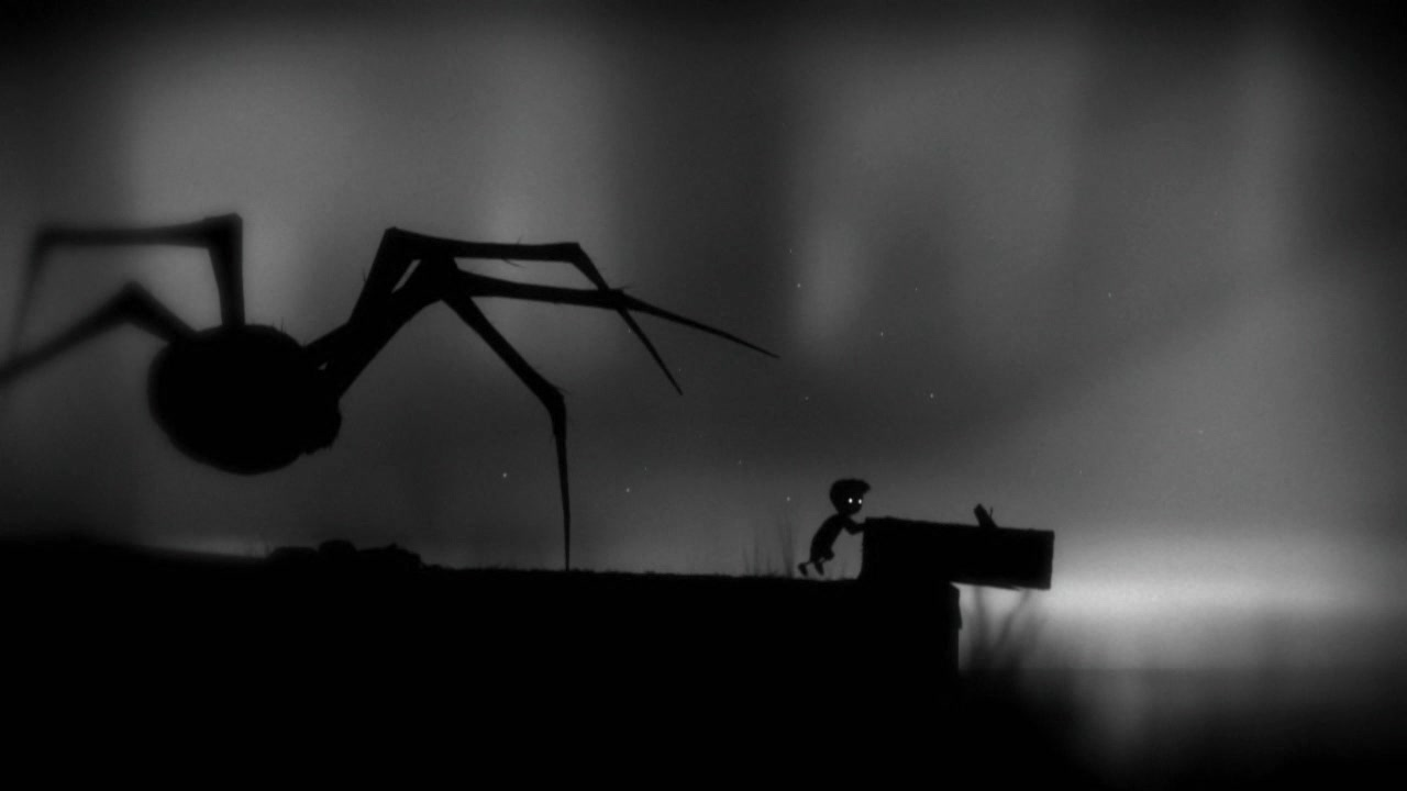 One of the many delightful experiences of Limbo
