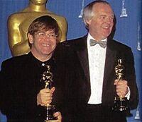 Elton John Tim Rice Oscars