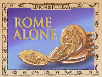 RomeAlone