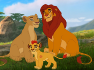 Kion and Parents