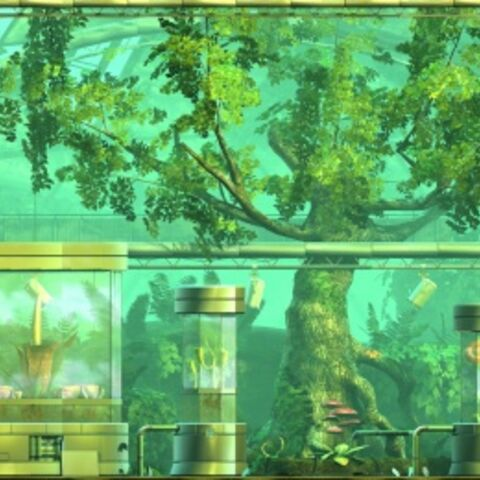 The background of Eve's Asylum in LittleBigPlanet 2